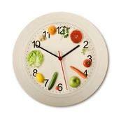 برای لاغر شدن، سر ساعت غذا بخورید