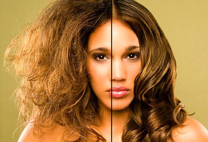 استراتژی های غذایی در مورد موهای خشک، شکننده و دارای مو خوره