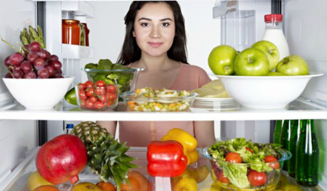 دما و مدت زمان نگهداری مواد غذایی در یخچال