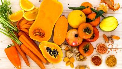 خواص شگفت انگیز سبزیجات نارنجی