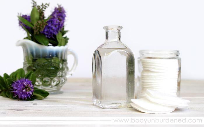 تونرهای طبیعی برای پوست های چرب
