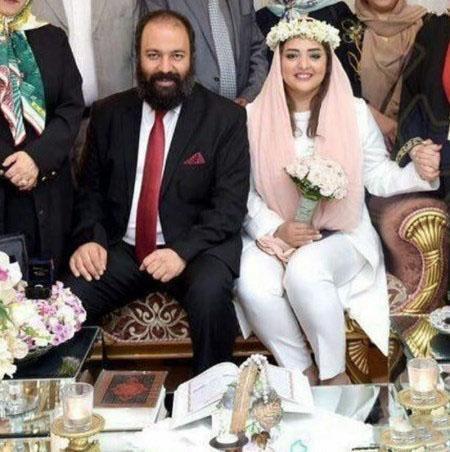 چهره پیر و تکیده نرگس محمدی بعد از ازدواج   عکس بدون آرایش نرگس محمدی