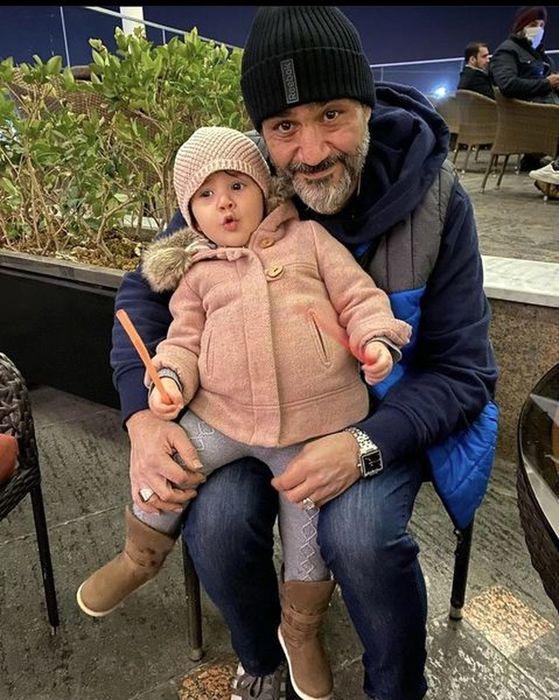 دلبری دختر کوچک مهران غفوریان برای پدرش + عکس