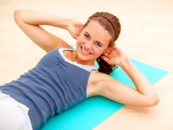 آموزش چند حرکت ورزشی مخصوص شکم و پهلو