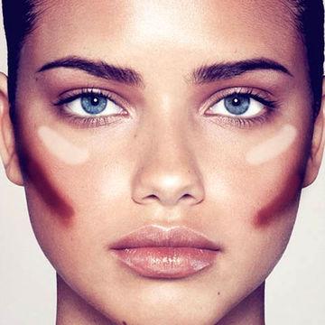 ترفند های آرایشی برای صورت گرد