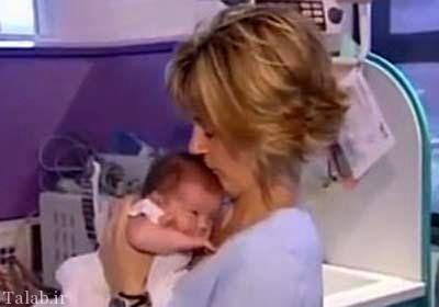 این کودک 2 بار از رحم مادر متولد شد + عکس