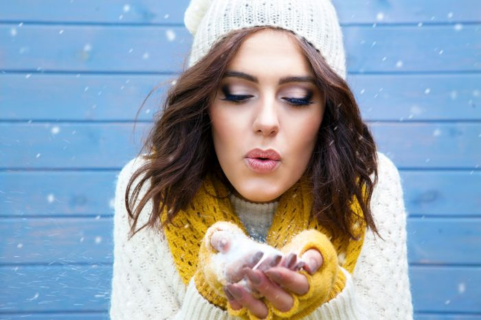 ترفند های آرایش در یک روز زمستانی