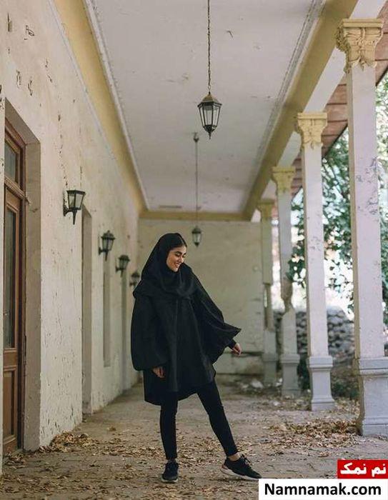 آدرینا صادقی بازیگر سریال احضار در کنار همسر جذابش + تصاویر