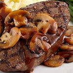 رژیم غذایی گوشت و قارچ