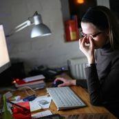 سردرد ناشی از خستگی چشم ها