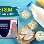 کاهش وزن تضمینی در 4 هفته با رژیم شیر