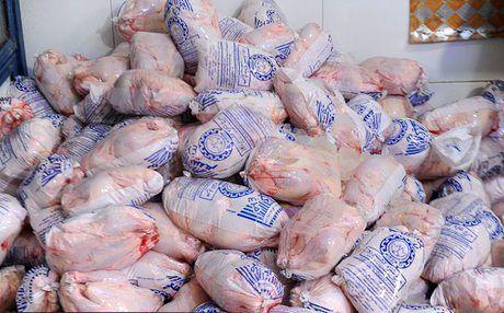کاهش قیمت مرغ در بازار تهران