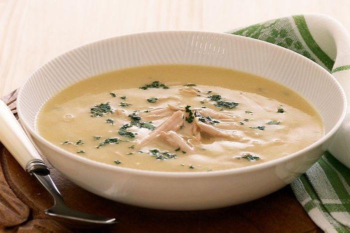 طرز تهیه سوپ خرمن و سیب زمینی سرخ کرده