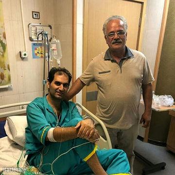 والیبال ایران داغدار شد   حسین کاظمی درگذشت   تصاویر حسین کاظمی