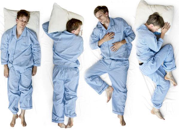 بهترین وضعیت خوابیدن برای بدن