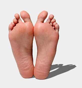 توصیه های مهم برای کف پای صاف