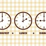 چه ساعتی برای صرف صبحانه و ناهار و شام مناسب است؟