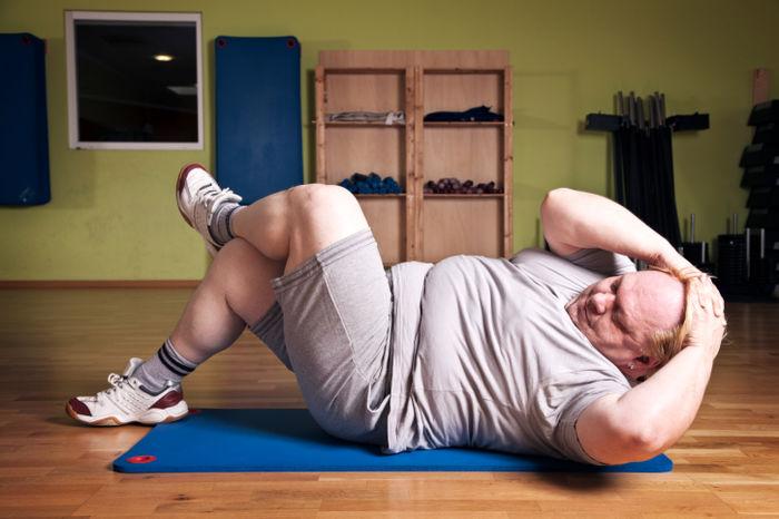 افراد چاق باید ورزش کنند