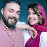 ماسک های عجیب بابک جهانبخش و همسرش+عکس
