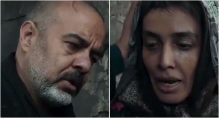سعید آقاخانی لیلا زارع را در ... کشید + فیلم