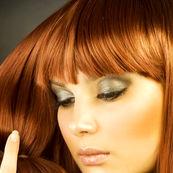 موهای نارنجی بعد از دکلره کردن